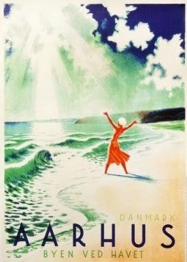 danske retro plakater